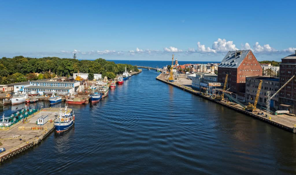 kolobrzeg harbour