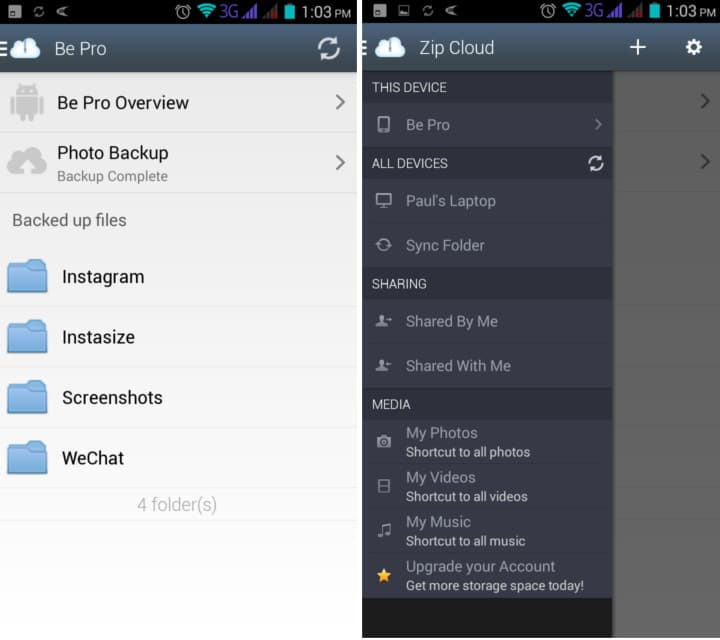 zipcloud android