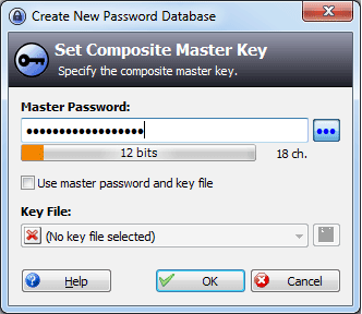 Create-database-password