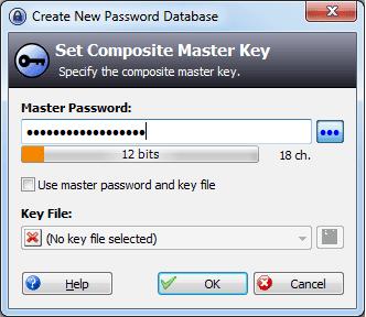 Create-database-password