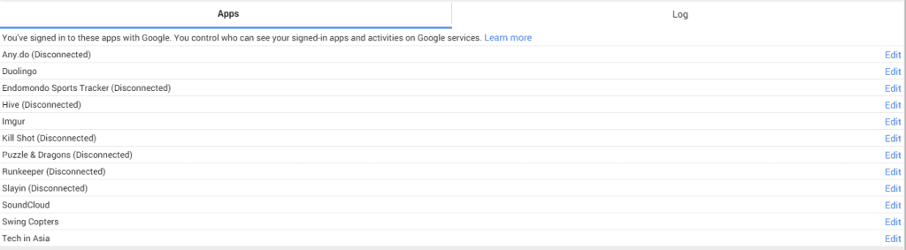 app permissions google plus