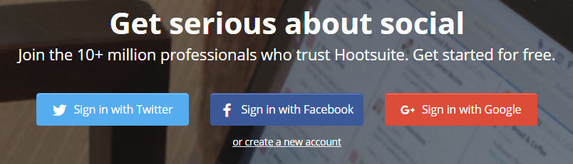 Should you login with Facebook, Google, Twitter, or LinkedIn?