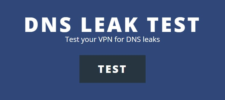 dns leak test comparitech