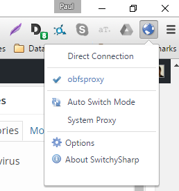 how to run a proxy server on windows