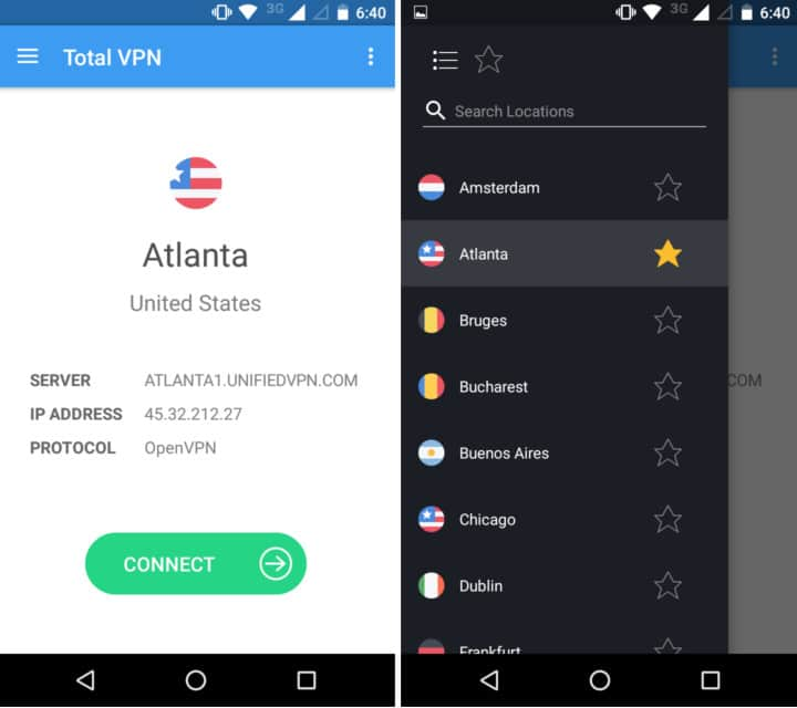 total vpn android