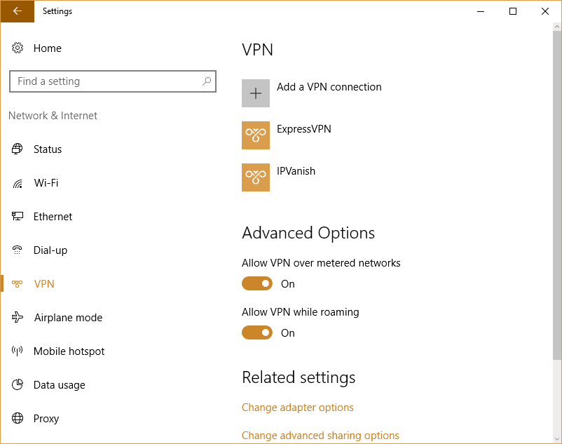 windows 10 manual vpn 2