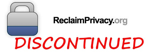 reclaim privacy discontinued
