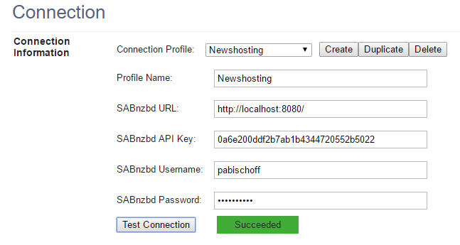 sabconnect settings