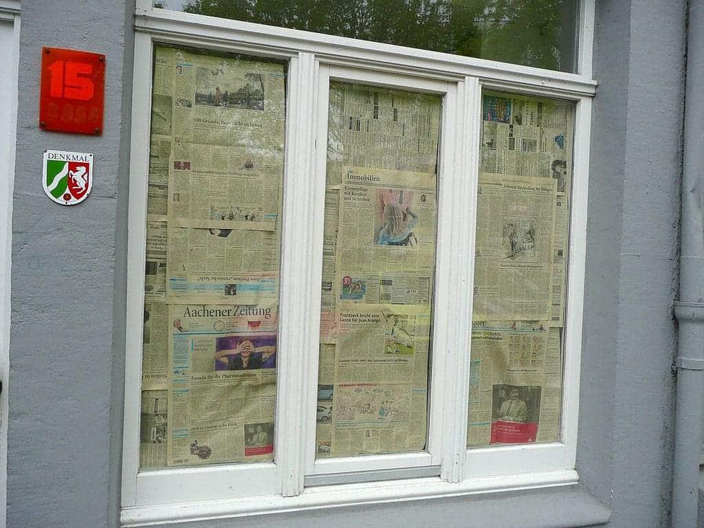 aachen windows newspaper