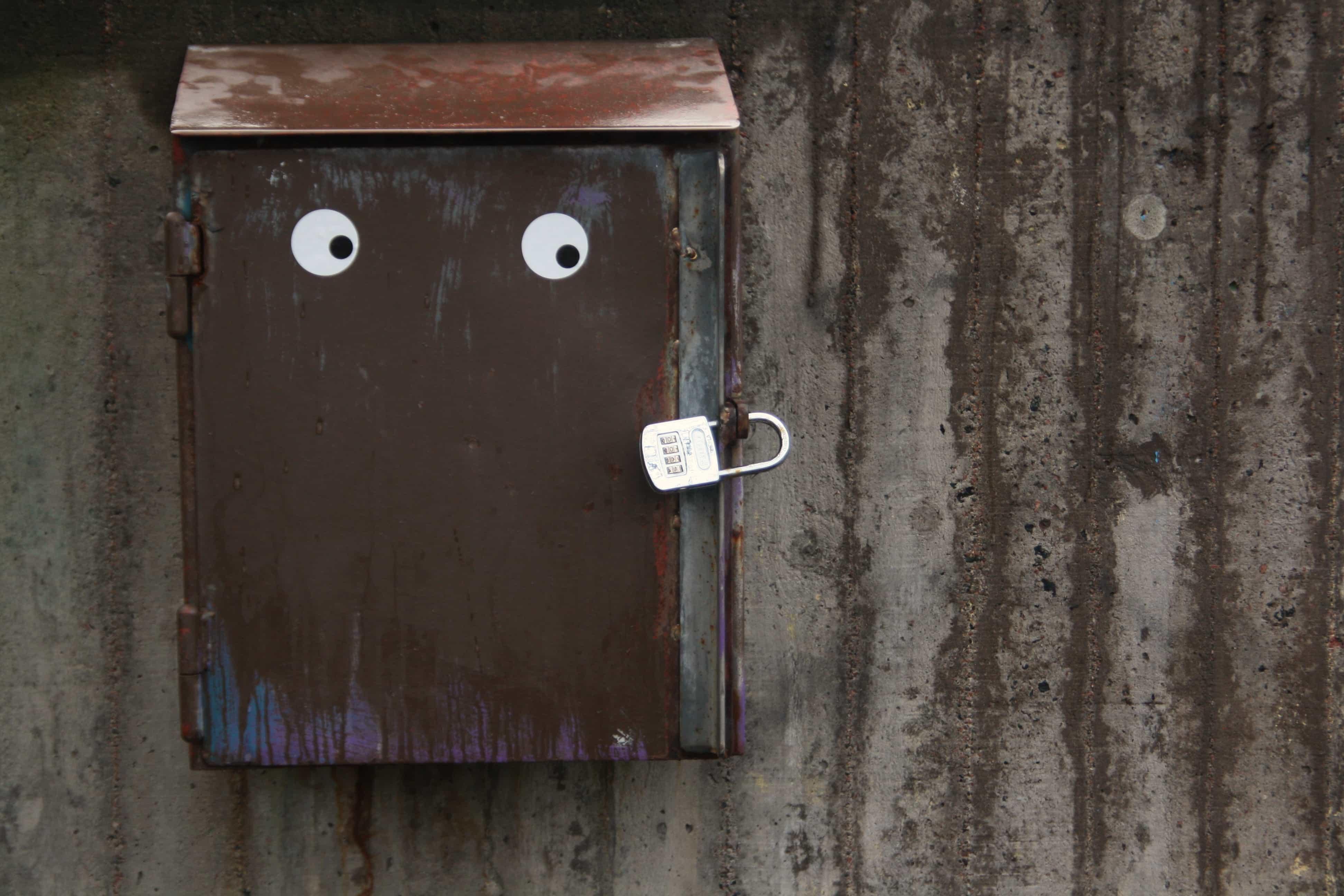 Dropbox padlock