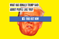 """Trump Yourself"" Facebook app hands your email over to Clinton campaign"