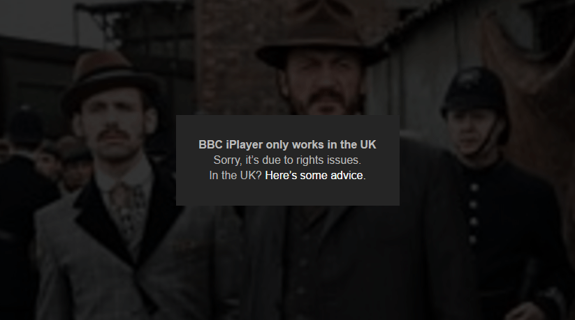 bbc iplayer only in UK