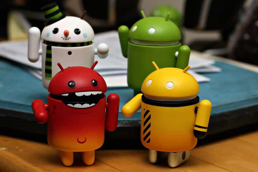 little android figurines