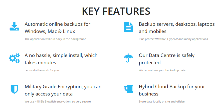 Backup Everything Key Features
