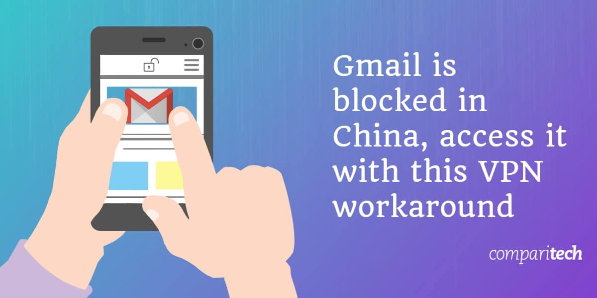 Gmail blocked China