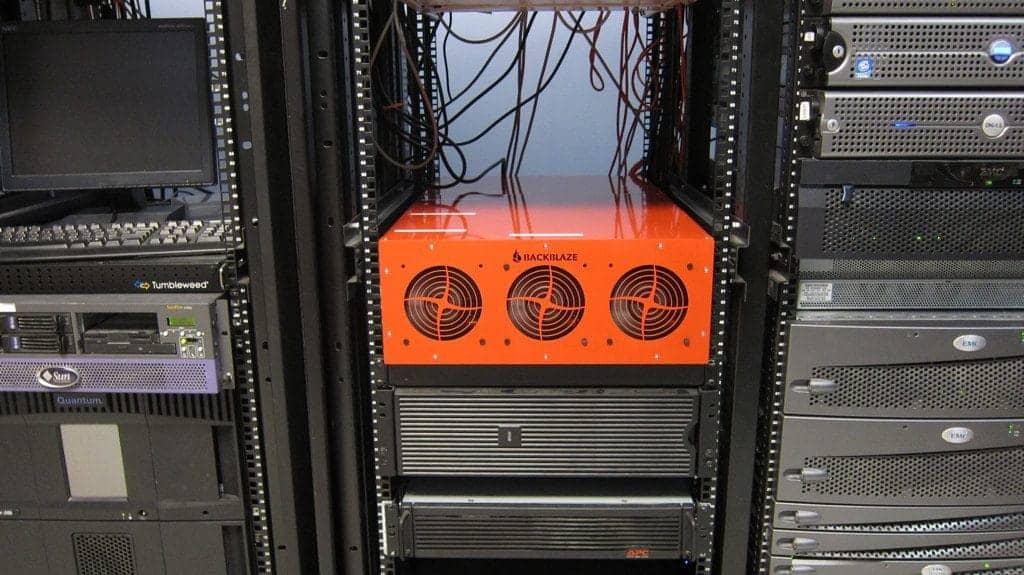 storage pod on 4u rack