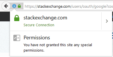 Stachexchange ssl