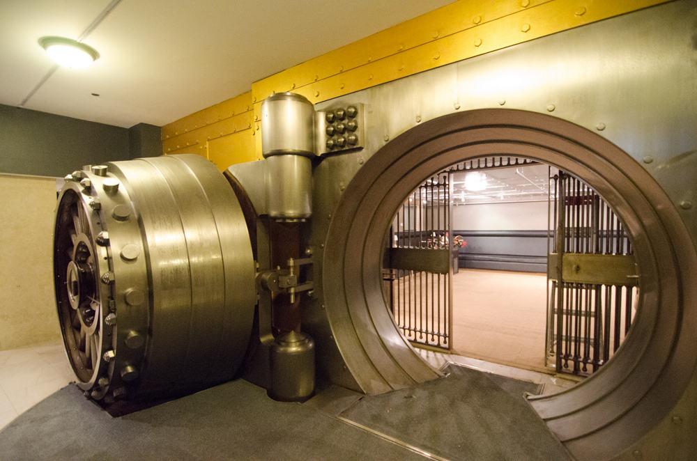 bank vaults