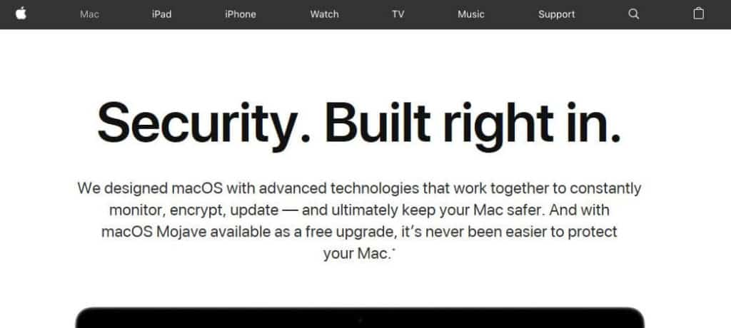 Information about built-in malware detection for Macs.