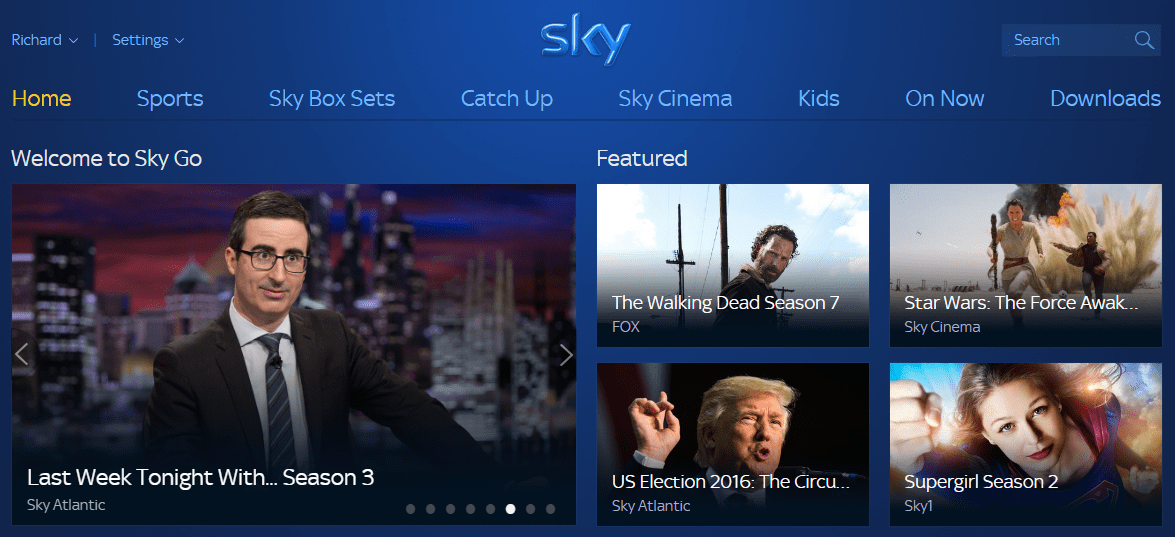 How to unblock and watch Sky Go abroad with a VPN or Smart DNS