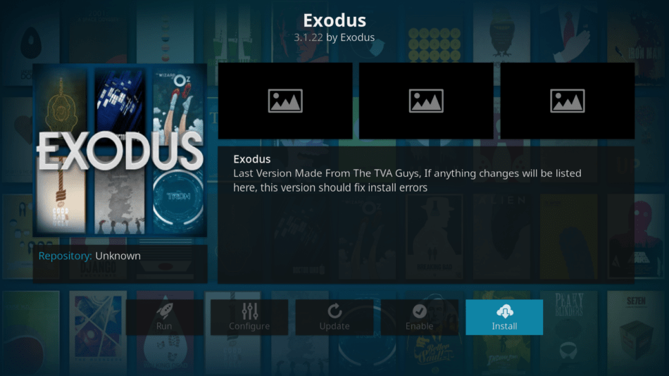 how to add exodus kodi android 17.1