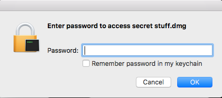 DU enter password