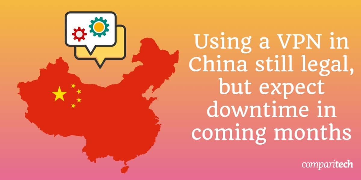 Using a VPN in China