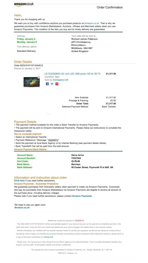 amazon scam invoice 3