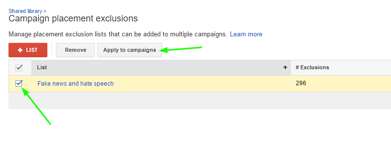 adwords fake site exclusion 5