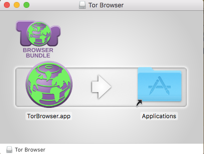 macos tor move to applications
