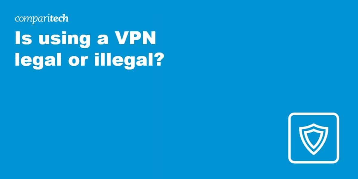 Is using a VPN legal