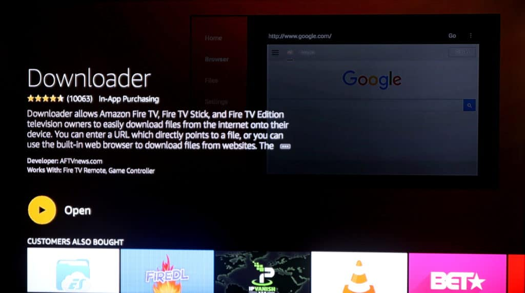 fire tv downloader
