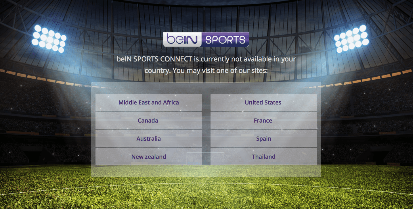 Best VPNs for beIN SPORTS to Unblock & Access from any Country