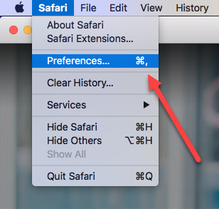 safari cookies preferences