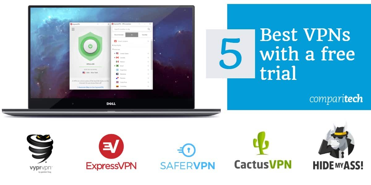 Best Free Trial VPN Services in 2019: Which don't need a credit card?