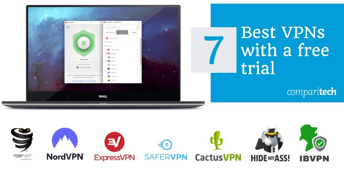 Best VPNs with free trial