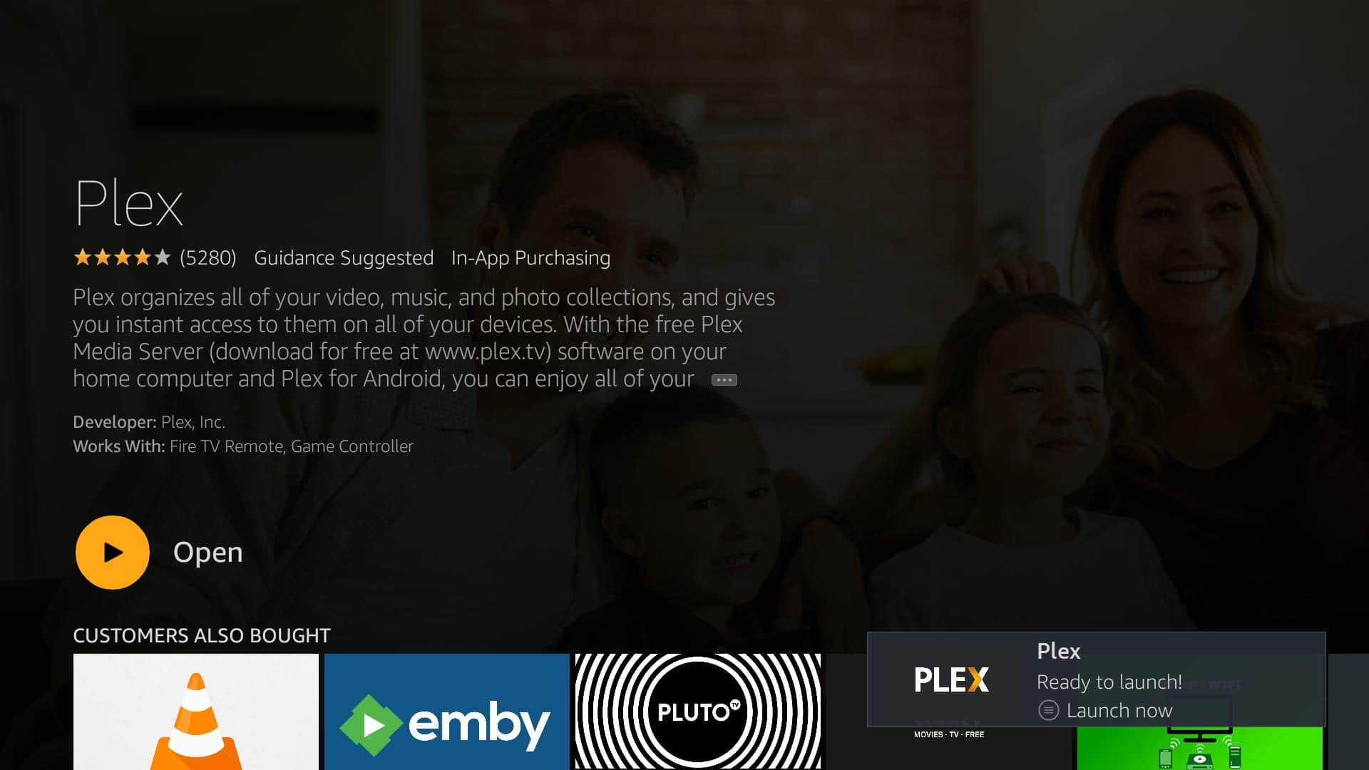 Installing and using the Fire TV Plex app | Comparitech