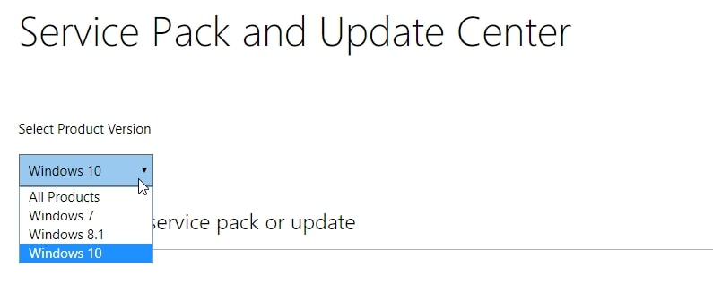 windows service packs ultimate how to install security updates
