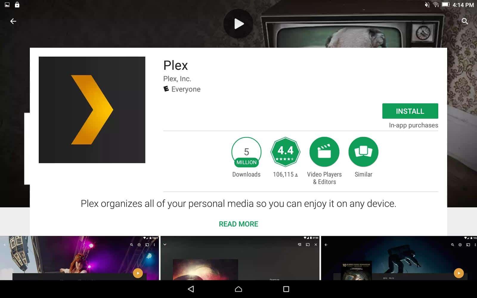 Plex Server - Plex Clients 1