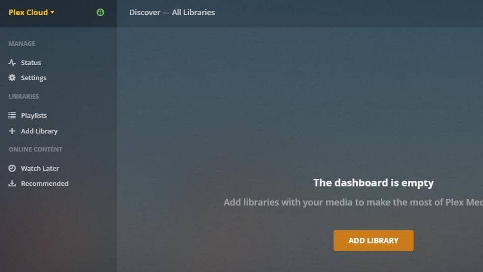 Plex Server - Plex Cloud 10