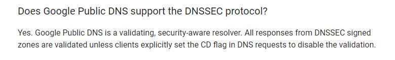 Plex VPN - Google DNS