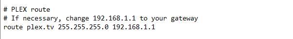 Plex VPN - IPVanish Config 4