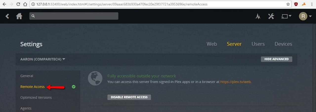 Selectively routing Plex through your VPN | Comparitech