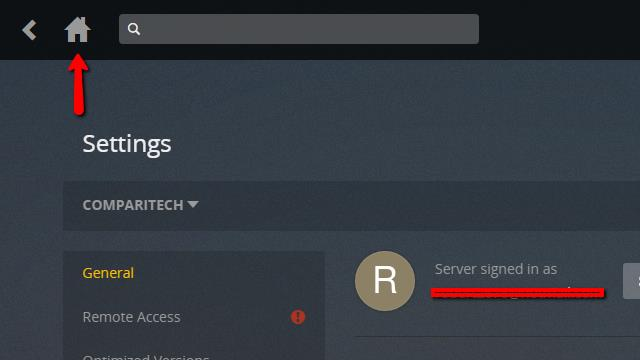 Plex Server - Create Server 5