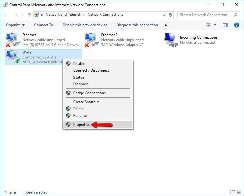 Plex VPN - Control Panel 3