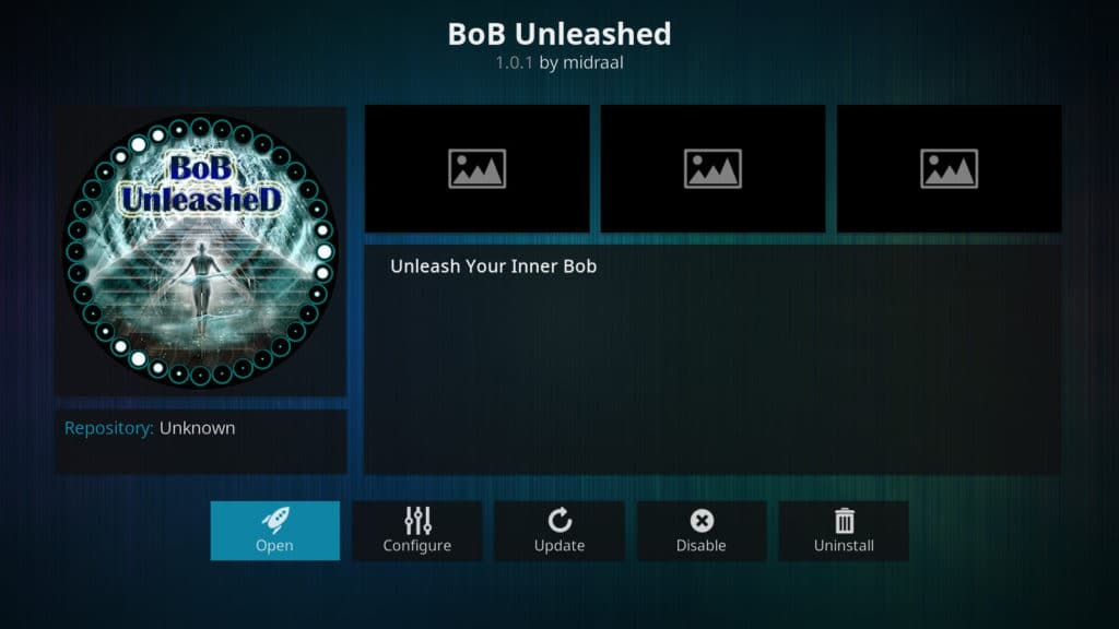 bob unleashed bob unrestricted bob kodi add-on
