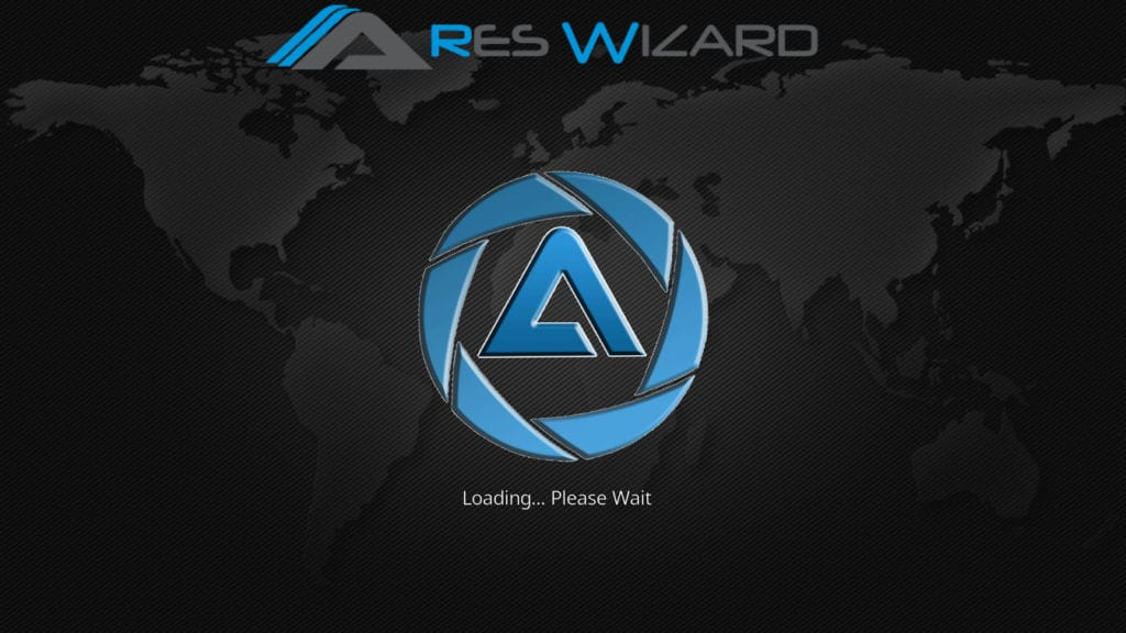 Ares Wizard loading