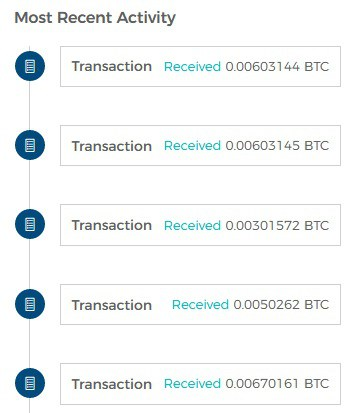 bitcoin mix end transactions