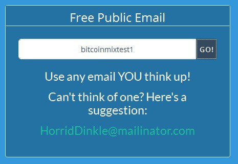 bitcoin mix mailitor