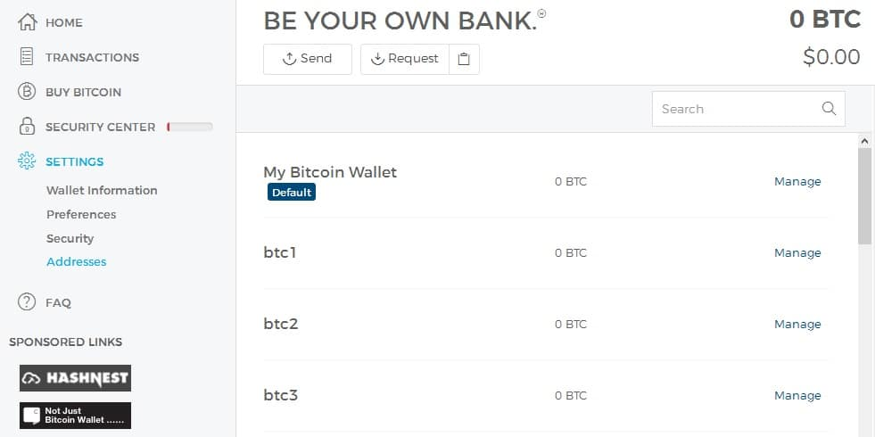 bitcoin mix multiple wallets